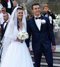 Agnieszka Radwańska i Dawid Celt dziękują za życzenia ślubne