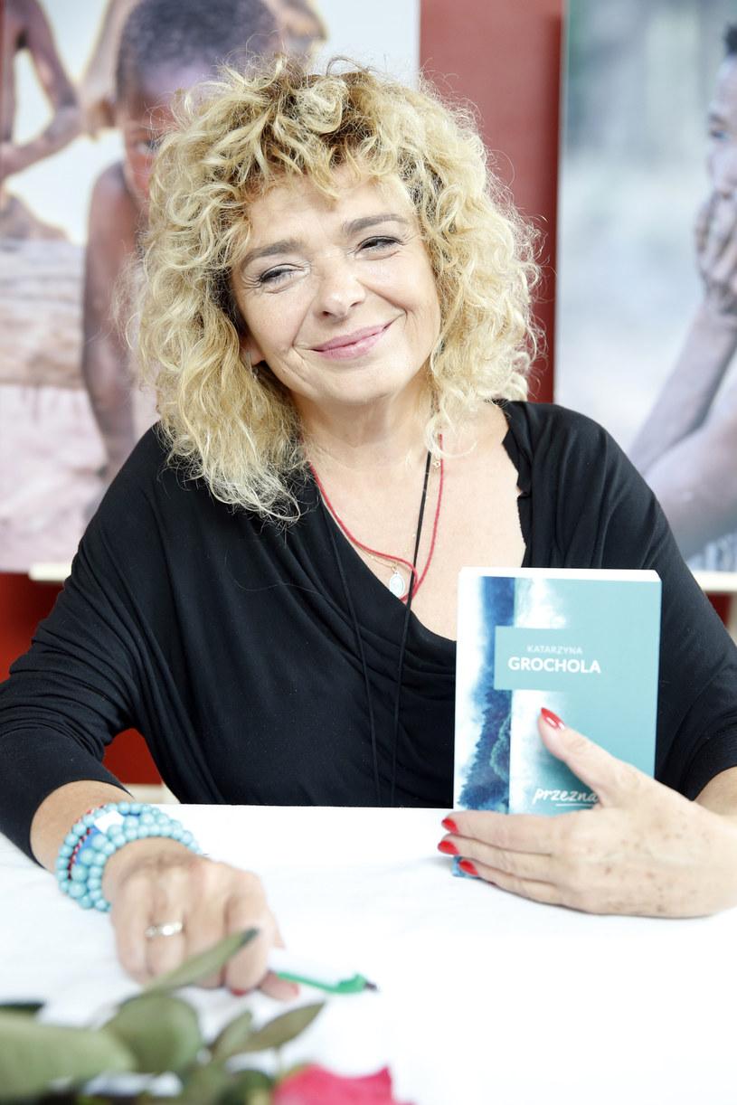 """""""Z przyczyn osobistych"""" nie odbędzie się spotkanie w Akademii Sztuk Przepięknych z pisarką Katarzyną Grocholą."""