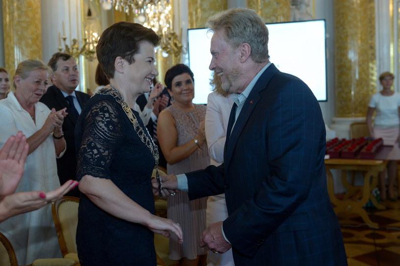 Daniel Olbrychski otrzymali w poniedziałek tytuły honorowego obywatela Warszawy.