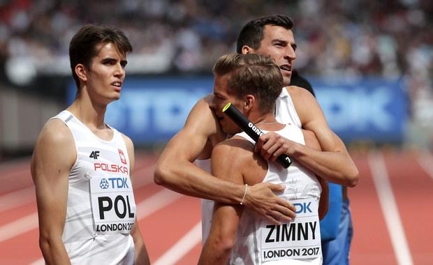 """Awans męskiej sztafety 4x400 m do finału lekkoatletycznych mistrzostw świata w Londynie to jedna z większych niespodzianek. """"Liczyliśmy, że ją sprawimy. Idzie młoda krew, ale mieliśmy też trochę szczęścia w losowaniu"""" - powiedział lider ekipy Rafał Omelko."""