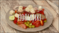 Horiatiki - klasyczna, wiejska sałatka grecka