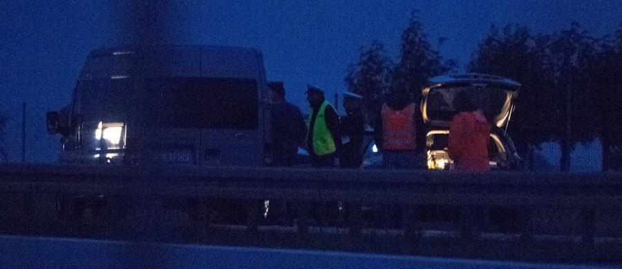 Nad ranem odbył się eksperyment procesowy na drodze ekspresowej S8 w miejscu, gdzie w styczniu zginął poseł Rafał Wójcikowski (Kukiz'15). Celem eksperymentu było odtworzenie przebiegu wypadku drogowego.