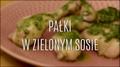 Pałki w zielonym sosie - szybki przepis na obiad