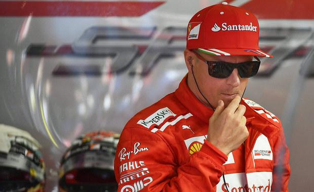 Fin Kimi Raikkonen przedłużył kontrakt z Ferrari i także w przyszłym roku będzie występował w mistrzostwach świata Formuły 1 w barwach włoskiego teamu. Po 11 wyścigach sezonu zajmuje w klasyfikacji generalnej piąte miejsce