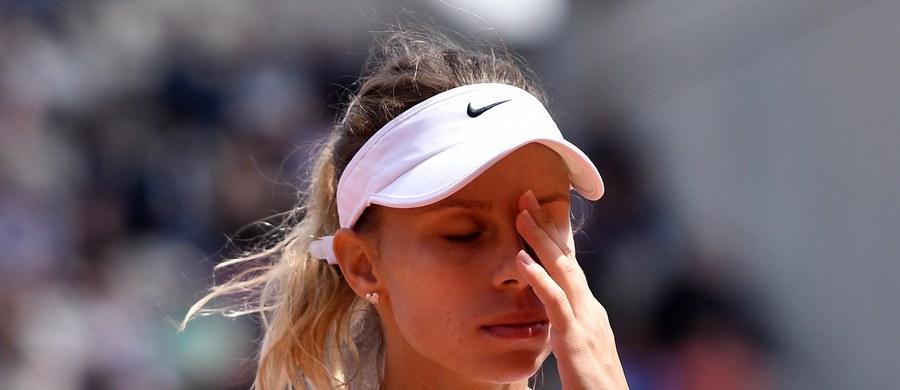 Magda Linette nie zdołała sprawić sensacji w pierwszej rundzie wielkoszlemowego turnieju US Open. Polska tenisistka przegrała w Nowym Jorku z liderką światowego rankingu Czeszką Karoliną Pliskovą 2:6, 1:6.