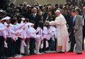 Kolumbia: Symboliczny gest papieża Franciszka