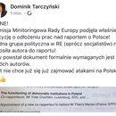 PILNE info z posiedzenia Komisji Rady Europy!