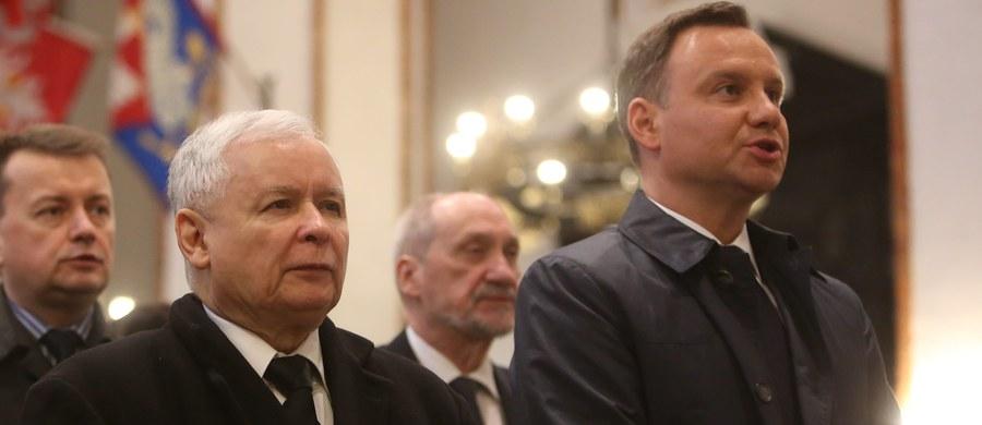 Próba złagodzenia kryzysu na linii rząd-prezydent - to cel dzisiejszego spotkania prezydenta Andrzeja Dudy z prezesem PiS Jarosławem Kaczyńskim. Jak nieoficjalnie ustalili dziennikarze RMF FM, do rozmowy w cztery oczy dojdzie po południu w Kancelarii Prezydenta. Przed nim, w siedzibie partii rządzącej na Nowogrodzkiej, spotkali się najważniejsi politycy PiS: Jarosław Kaczyński, premier Beata Szydło, wicepremier Mateusz Morawiecki oraz wicemarszałek Sejmu Joachim Brudziński.