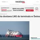 Dwudziesta dostawa LNG do terminala w Świnoujściu 💪💪💪👍👍👍