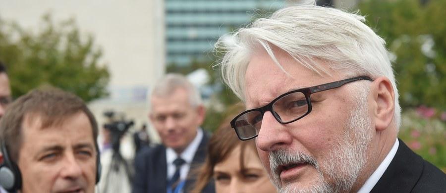Finansowanie z UE nie jest przyznawane za dobre zachowanie – powiedział szef polskiej dyplomacji Witold Waszczykowski w wywiadzie dla Bloomberg TV. Odniósł się w ten sposób do uwagi Komisji Europejskiej ws. reformy sądownictwa w Polsce.