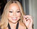 Mariah Carey w lateksowej sukience
