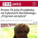INFO TVPis dało wykładnie szczęścia