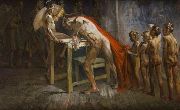 """Ostatni raz widziany prawie 80 lat temu obraz Jacka Malczewskiego """"Geniusz w pracowni malarskiej"""" 12 października pojawi się na aukcji w Warszawie. Praca jednego z najwybitniejszych przedstawicieli polskiej sztuki przedwojennej nigdy wcześniej nie była wystawiana na sprzedaż. Jej wartość szacuje się nawet na ponad milion złotych. """"W tym mało znanym obrazie mamy dość popularny motyw - artysta, pracownia i coś, co zaprząta jego myśli. To bardzo, bardzo interesująca praca"""" - mówi w RMF FM Jan Koszutski z Desa Unicum."""