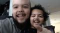 Ojciec zamienił się twarzą ze swoim synkiem
