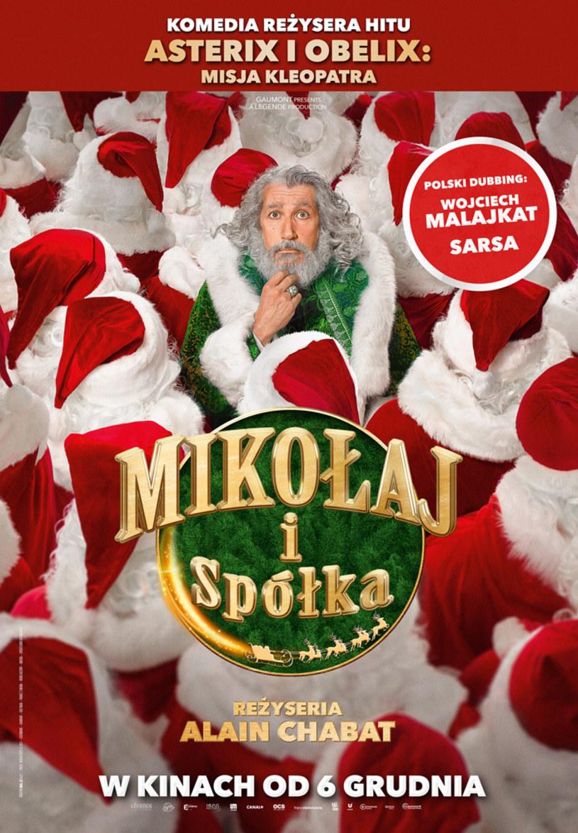"""Świąteczne prezenty same się nie rozwiozą! Co więc zrobić, gdy pomocnicy Świętego Mikołaja się pochorują? Najlepiej z pomocą całej rodziny ruszyć na ratunek Gwiazdki! """"Mikołaj i spółka"""" (ang: """"Christmas & Co."""") to pełna magii, elfów, wróżek i fajerwerków zakręcona komedia familijna reżysera hitu: """"Asterix i Obelix: Misja Kleopatra""""."""
