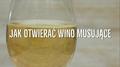 Bezpieczne otwieranie wina musującego