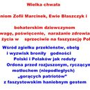 Stop faszyzmowi na świętej ziemi polskiej