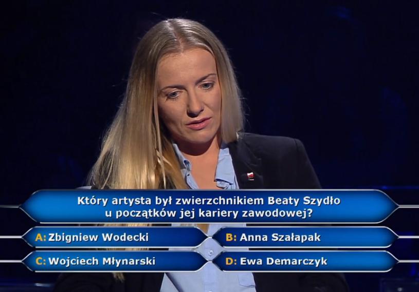 """Mistrzyni świata w wioślarstwie Weronice Deresz nie udało się wygrać głównej wygranej w """"Milionerach"""". Jak zakończyła swój udział w popularnym teleturnieju?"""