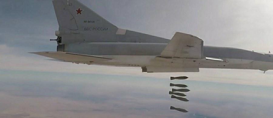Sześć rosyjskich bombowców Tu-22M3 (oznaczenie zachodnie Backfire) dokonało ataku na cele Państwa Islamskiego na północnym wschodzie Syrii - poinformowało w sobotę rosyjskie ministerstwo obrony.