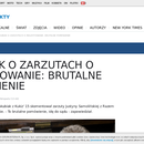 Poseł Marek Jakubiak na cenzurowanym.