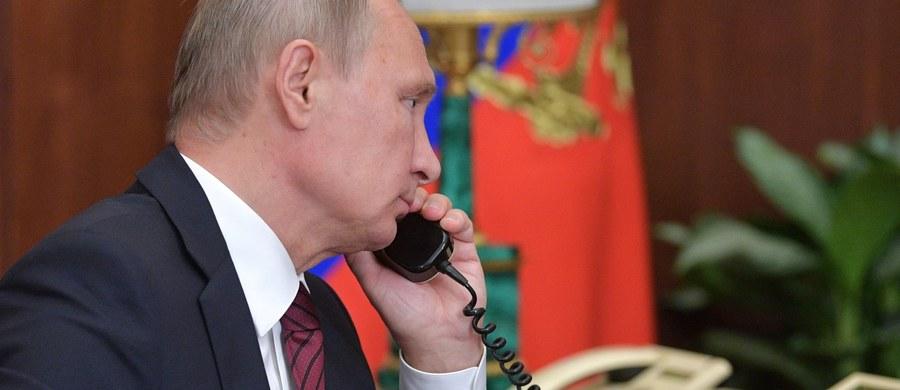 Prezydent Władimir Putin zatelefonował w niedzielę do prezydenta Donalda Trumpa, by podziękować mu za przekazane przez CIA informacje, które umożliwiły udaremnienie ataku terrorystycznego w Rosji - poinformowała służba prasowa Kremla.