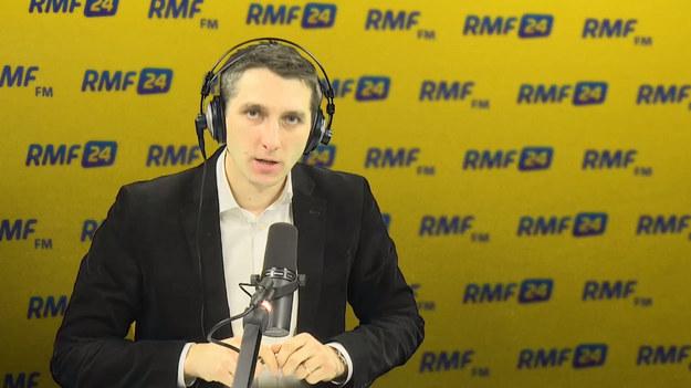Różański w Popołudniowej rozmowie RMF (09.01.18).