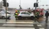 Karambol w Łodzi: Zderzyły się 24 pojazdy