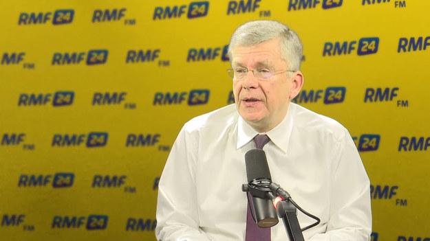 Karczewski w Porannej rozmowie RMF (11.01.18).