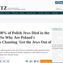 Haaretz ( najstarszy dziennik wydawany w Izraelu) o Polakach i ich prawdziwej twarzy .