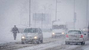 W czwartek śnieżyce i wichury. IMGW ostrzega