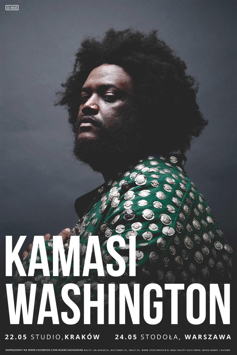 Kamasi Washington wraca do Polski na dwa koncerty. Muzyk wystąpi 22 maja w krakowskim klubie Studio i 24 maja w warszawskiej Stodole.