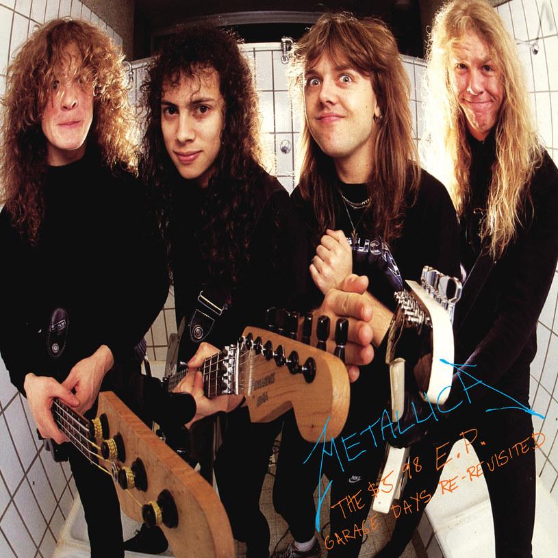 """13 kwietnia, prawie trzy dekady po wyczerpaniu nakładu, Metallica wyda zremasterowaną wersję """"The $ 5,98 EP - Garage Days Re-Revisited""""."""