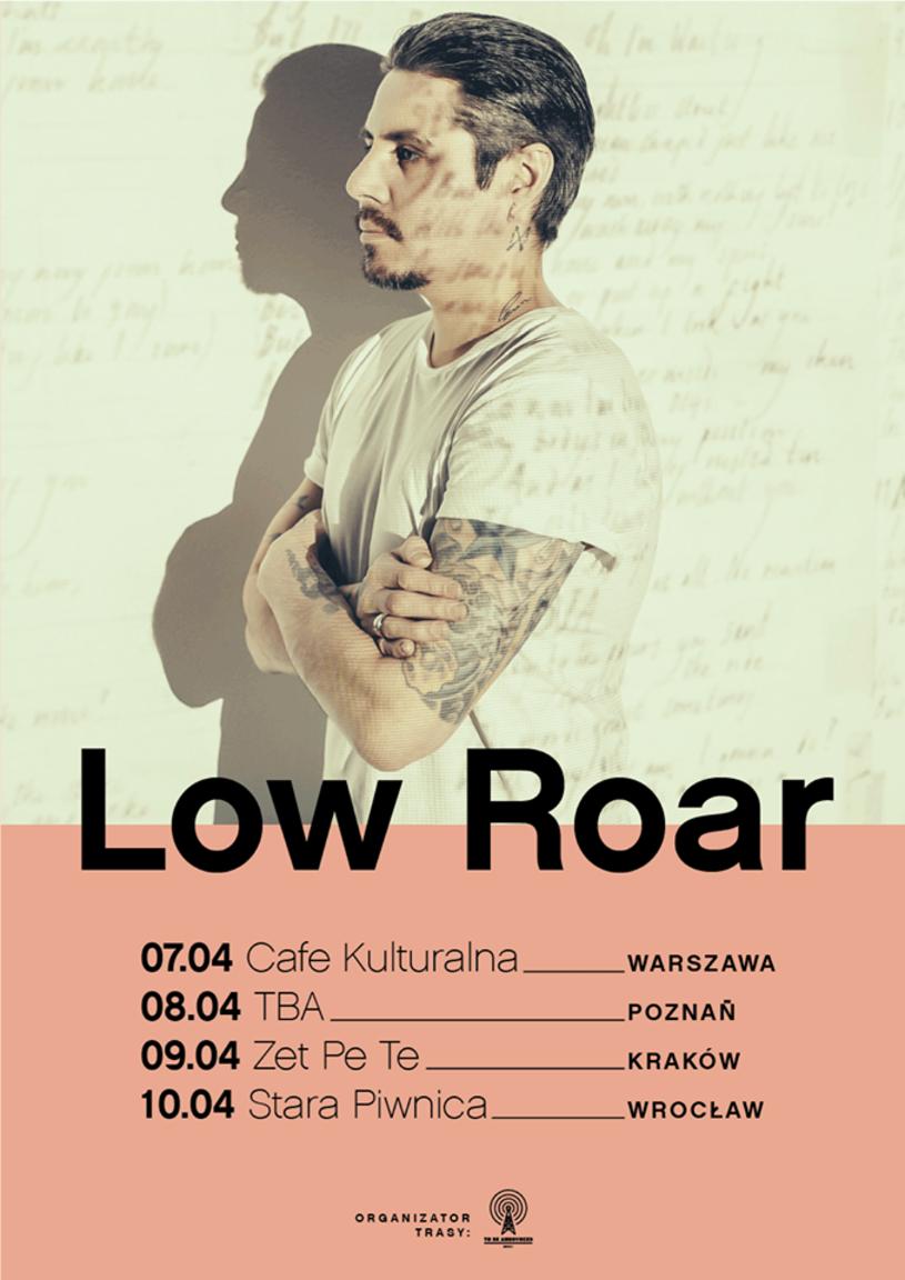 """Low Roar po trasie promującej ostatni album """"Once In A Long, Long While..."""", wróci do naszego kraju, by zagrać cztery koncerty. Już w kwietniu wystąpi w Warszawie, Poznaniu, Katowicach i Wrocławiu."""