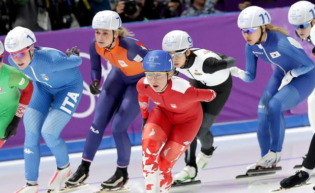 Japońska łyżwiarka Nana Takagi zdobyła złoty medal w olimpijskim wyścigu ze startu wspólnego w Pjongczangu. Jedyna Polka w finale Luiza Złotkowska zajęła dziewiąte miejsce.