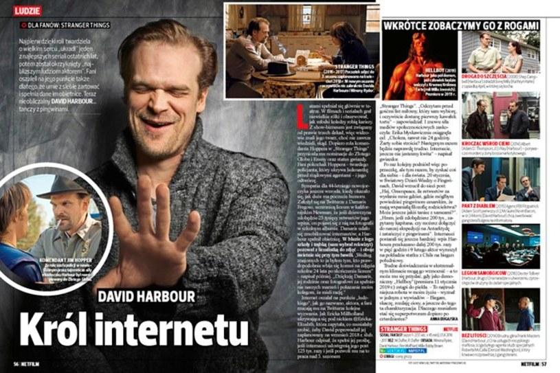 """Już od 6 marca w sprzedaży będzie dostępny nowy magazyn Wydawnictwa Bauer """"Netfilm"""". Co w nim znajdziemy?"""