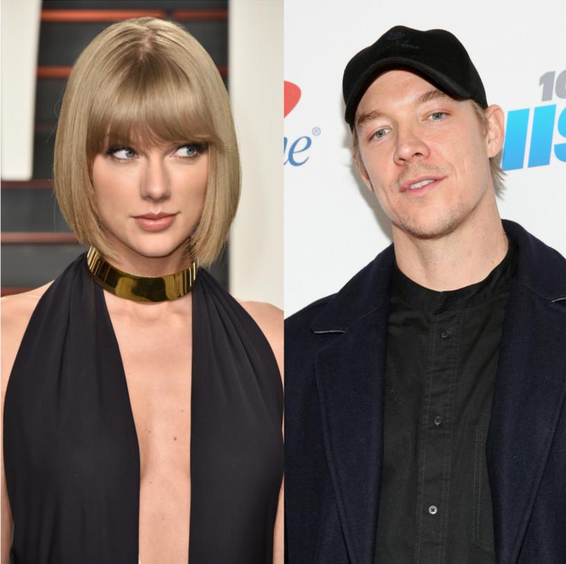 """Diplo sparodiował najnowszy teledysk Taylor Swift zatytułowany """"Delicate""""."""