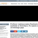 Pawłowicz i jej choroba umysłowa.