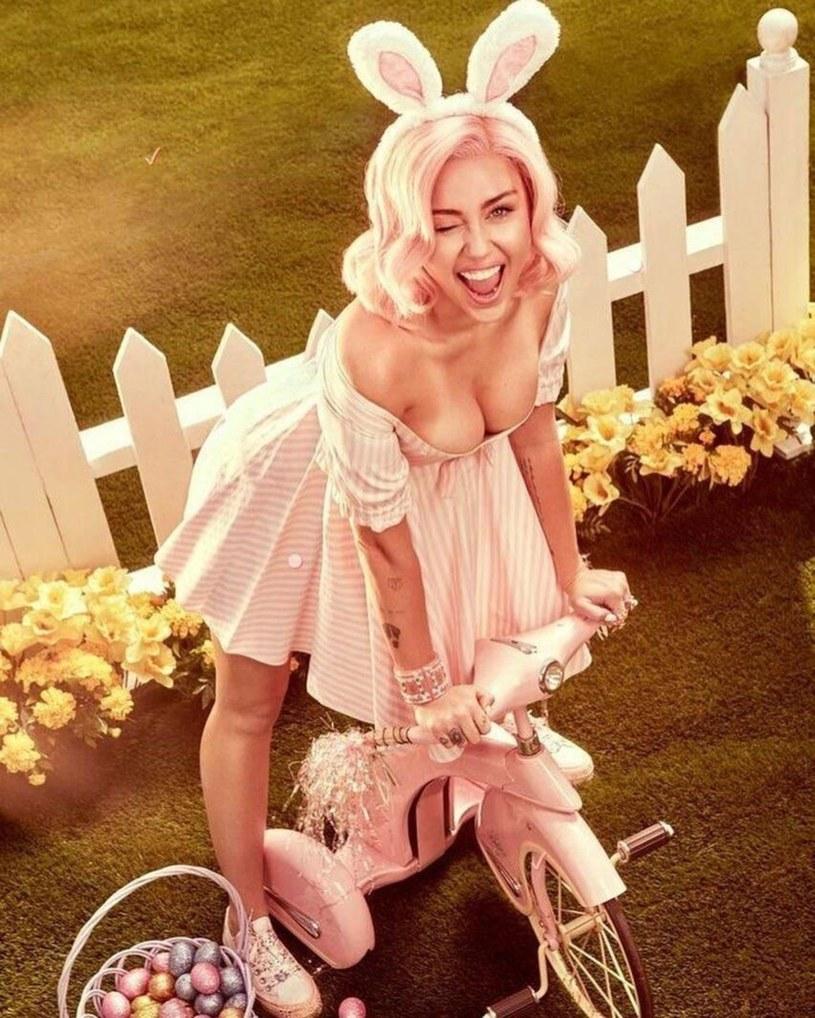 Rita Ora, Miley Cyrus oraz Aubrey O'Day postanowiły zaprezentować się w wielkanocnych stylizacjach swoim fanom.