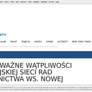 Czy Polska KRS pozostanie w ESRS (ENCJ) ?