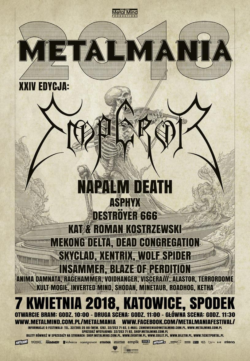 XXIV edycja Metalmanii odbędzie się w sobotę 7 kwietnia w katowickim Spodku. Poniżej możecie sprawdzić praktyczne informacje związane ze świętem metalu.