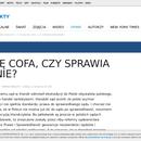 Pierwsze echa upolitycznienia wymiaru sprawiedliwości w Polsce.