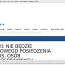Sejm nie będzie zajmował sie niepełnosprawnymi.