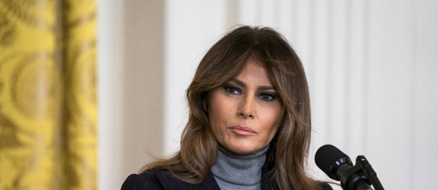 Pierwsza dama USA Melania Trump przeszła w poniedziałek zabieg chirurgiczny w związku z łagodną dysfunkcją nerki i przez tydzień pozostanie w szpitalu Walter Reed National Military Medical Center w Waszyngtonie - poinformowała jej rzeczniczka Stephanie Grisham.