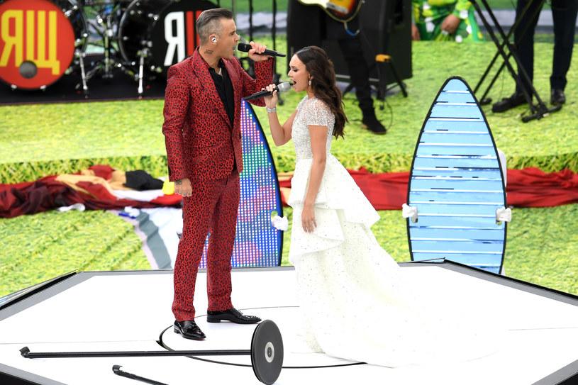 Robbie Williams i Aida Garifullina wystąpili podczas ceremonii otwarcia Mistrzostw Świata w Piłce Nożnej w Rosji. Poniżej możecie zobaczyć zdjęcia z występu artystów.