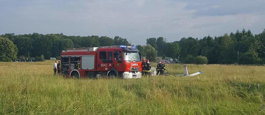 Na lotnisku Muchowiec w Katowicach rozbiła się awionetka. Maszyna stanęła w płomieniach. Nikomu nic się nie stało. Informacje z Gorącej Linię RMF FM potwierdzili nam strażacy.