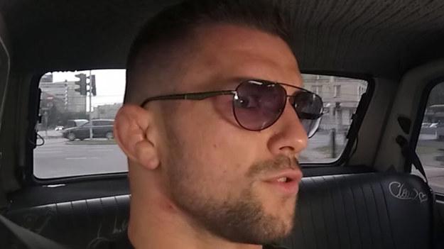 Mateusz Gamrot, mistrz federacji KSW, wyjaśnił dlaczego wielu zawodników MMA ma zdeformowane uszy.
