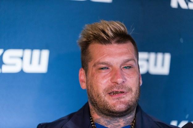 """Paweł """"Popek"""" Mikołajuw przegrał podczas gali KSW 45 z Erko Junem. Była to dla niego trzecia porażka w tej federacji. Zaraz po walce zapowiedział, że kończy karierę/myMMA.pl/x-news"""