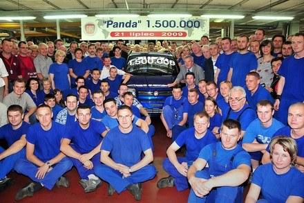 1,5 mln fiatów panda /