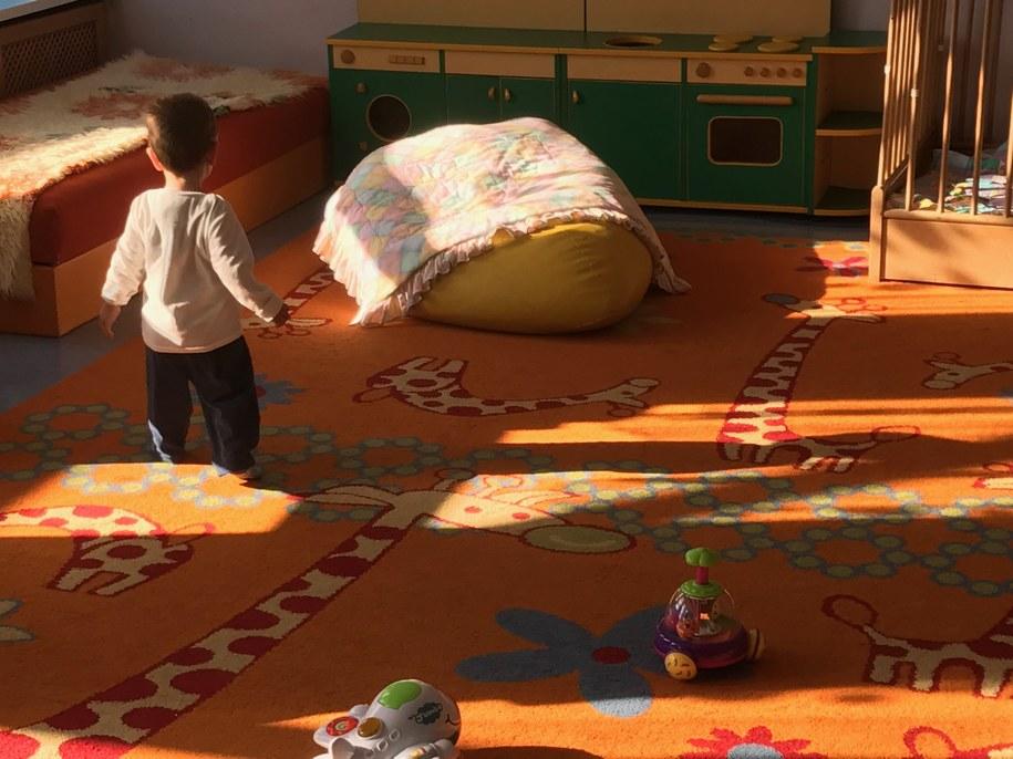 1,5-roczny chłopiec był w wózeczku /Piotr Bułakowski /RMF FM