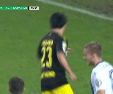 1. FC Magdeburg - Borussia Dortmund 0-5. Wideo